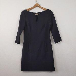 Eliza J 3/4 sleeve sheath black dress 4